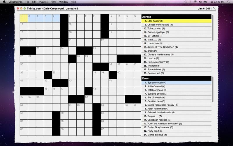 CrosswordLight Screenshot