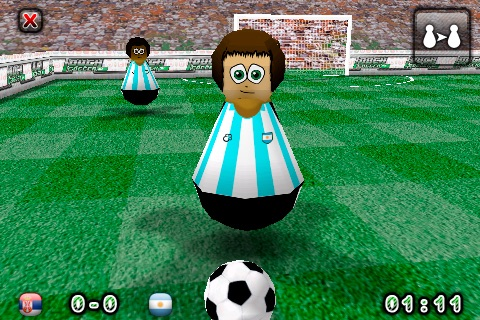 Touch Soccer 3D Lite screenshot-0