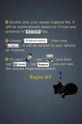 Ringtones Maker - Make Ringtones from your Music Library Скриншоты6