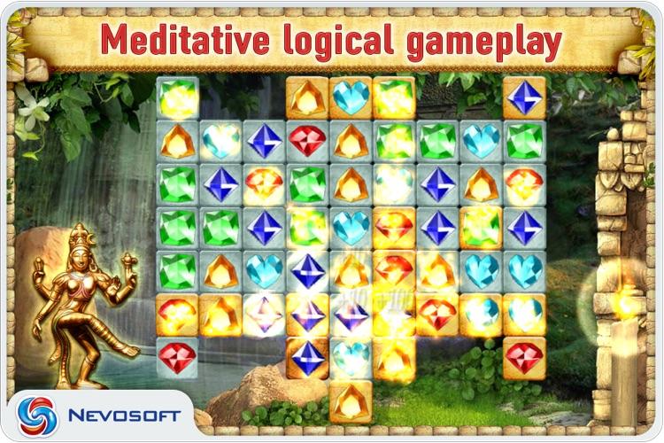 Pantheon: jewel matching puzzle