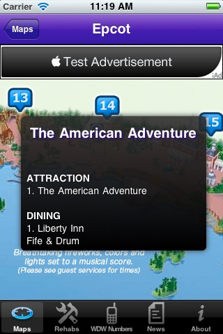 Disney World Maps screenshot-4