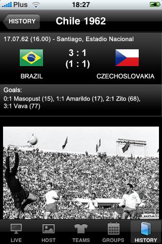 iSouth Africa 2010 Football Dream screenshot one