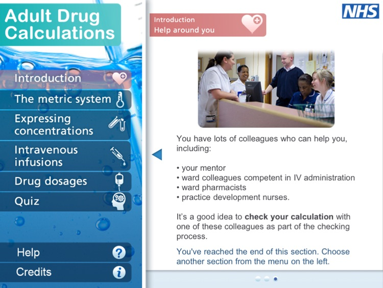 Adult Drug Calculations for iPad