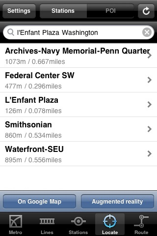 Washington Metro screenshot-4