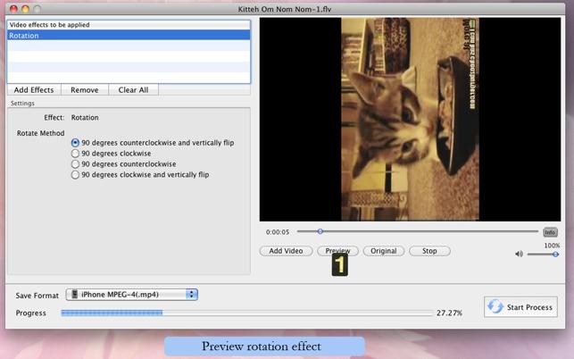 Movie Effects Screenshot