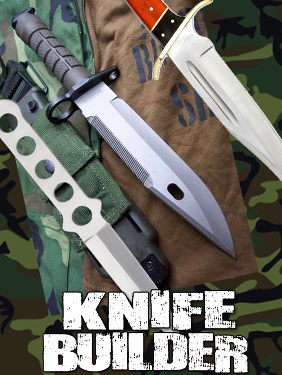 Knife Builder HD for iPad