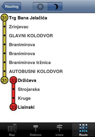 Zagreb tramvaj screenshot-3