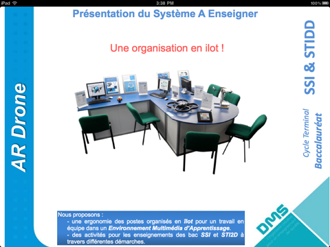 Screenshot #6 pour Système à Enseigner: AR.Drone