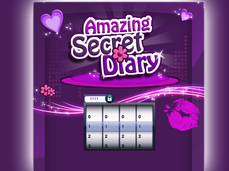 Amazing Secret Diary HD Lite screenshot-0