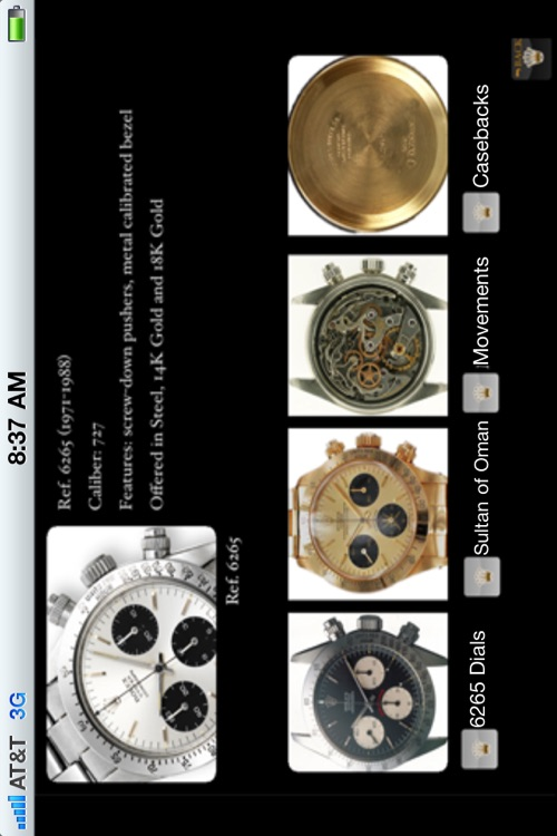 Rolex Cosmograph Daytona Pocket Reference screenshot-2