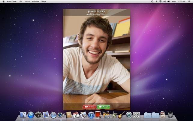facetime mac 10.6.8