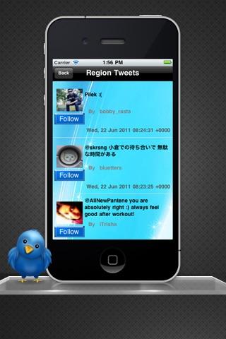 Region Tweets Lite screenshot-3
