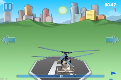 Helicopter Landing Pro Lite screenshot-2