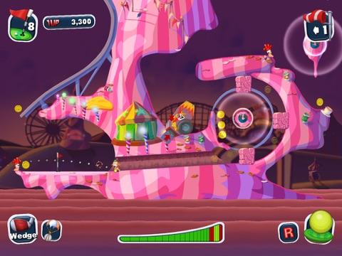 Игра Worms Crazy Golf HD