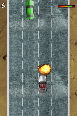 Wheels On Fire Screenshot