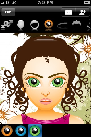 Avatar Free (Super Cute Contact Face Creator)