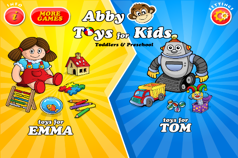 Abby's Toys - Games For Toddlers & Preschoolers screenshot 1