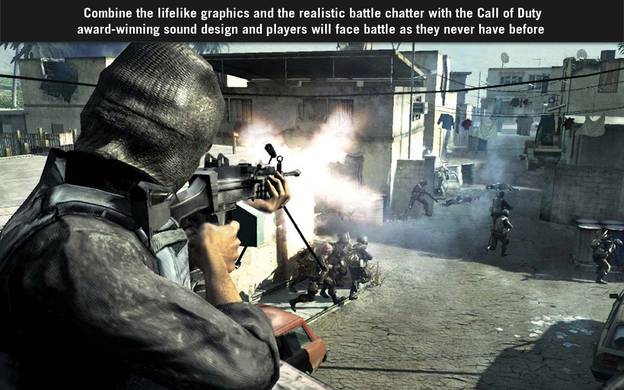 Screenshot do app Call of Duty® 4: Modern Warfare™