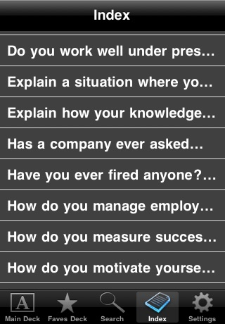 Interview Prep Questions (Free!) screenshot-3