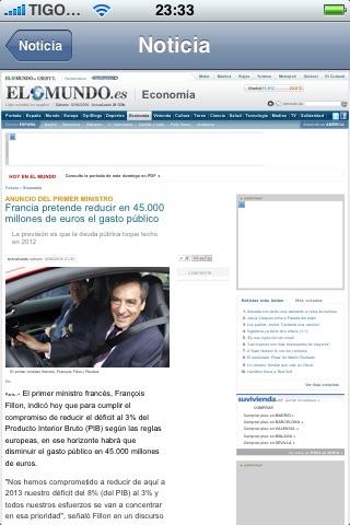 Diarios España | Periodicos: ElCorreo, ABC Sevilla, LaVoz de Galicia... screenshot-4