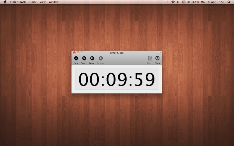 Timer Clock Screenshot