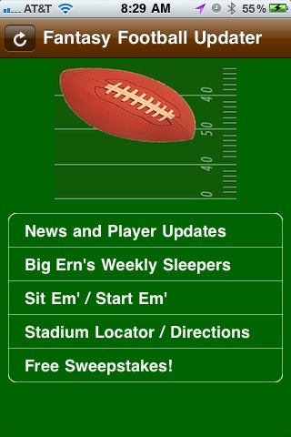 Fantasy Football News and Player Updater