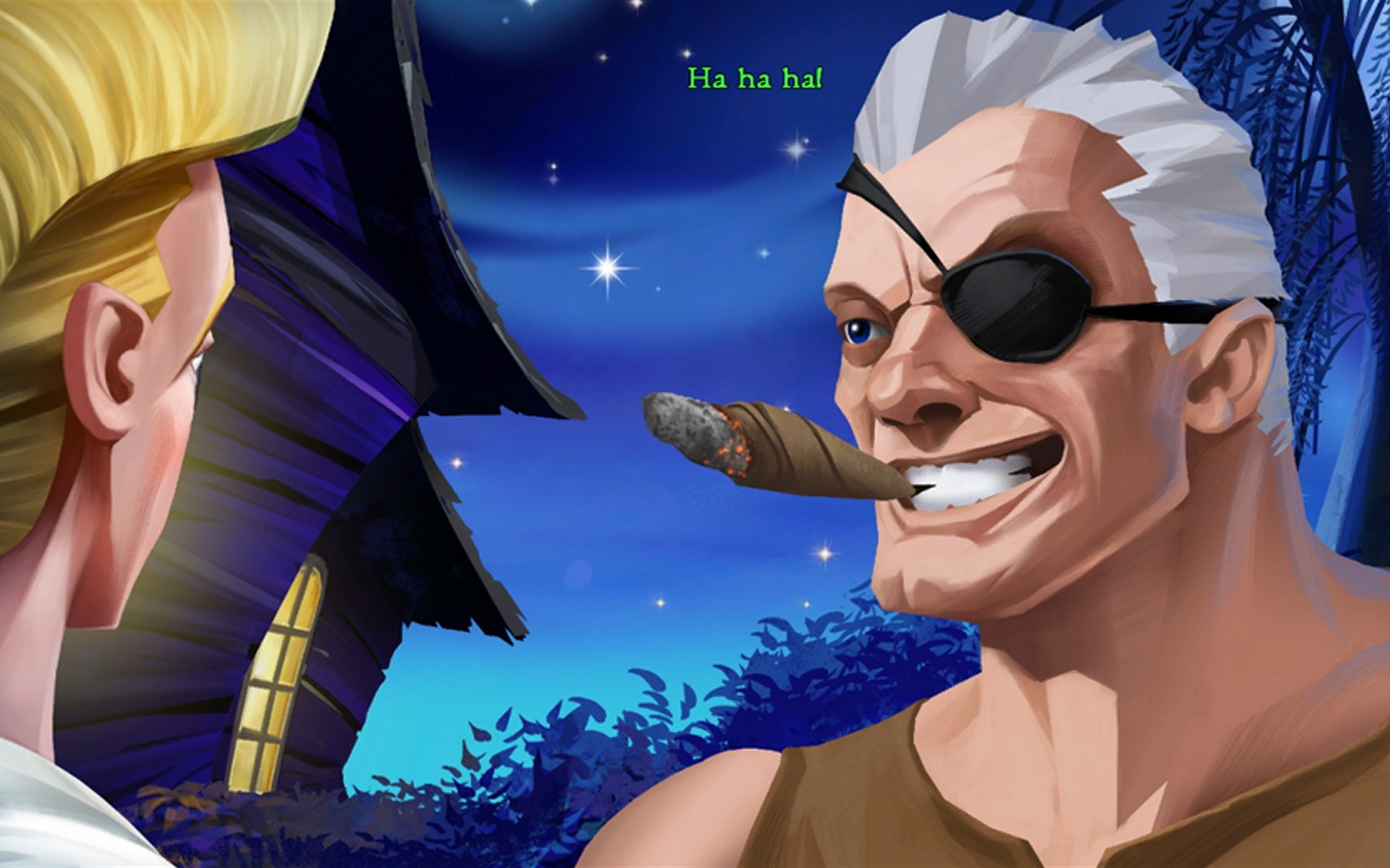 Screenshot do app The Secret of Monkey Island ™: Special Edition