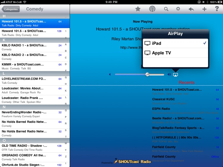 Radio - iPad Edition