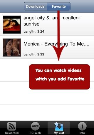 Video Player and Downloader for Facebook screenshot-3