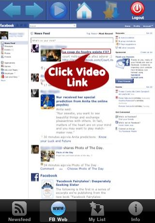 Video Player and Downloader for Facebook screenshot-4