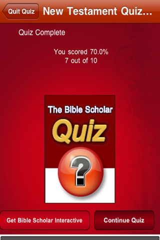 Bible Scholar Quiz screenshot-4
