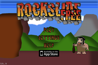RockSlide Free screenshot two