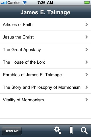 James E. Talmage: Writings, Doctrine & Parables Collection LDS screenshot-0