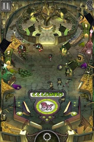 Undead Attack! Pinball Lite screenshot one