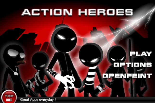 ACTION HEROES 9-IN-1 Screenshot
