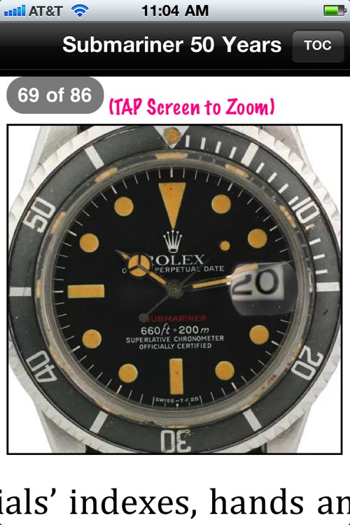 Submariner 50 Years: A Complete Guide to the Rolex Submariner (1953-2010), 2nd Ed screenshot-3