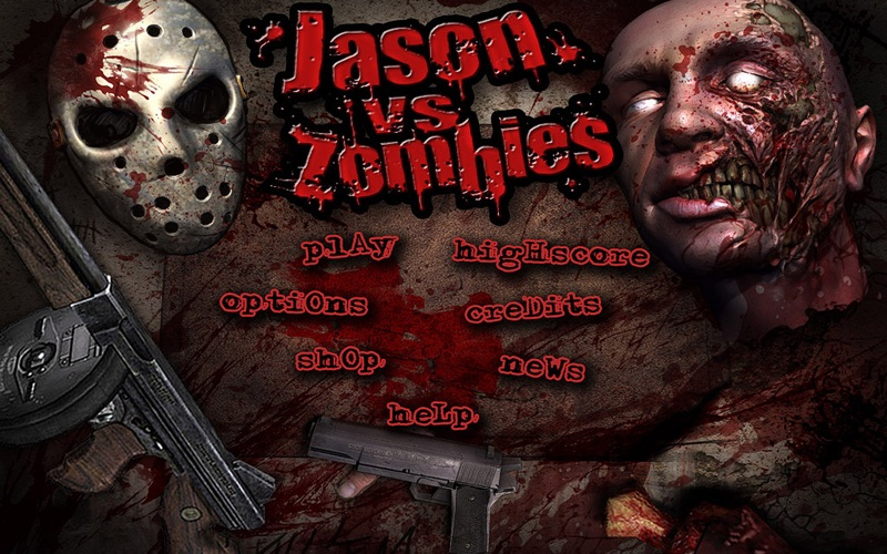 Jason vs Zombies - Free Screenshot