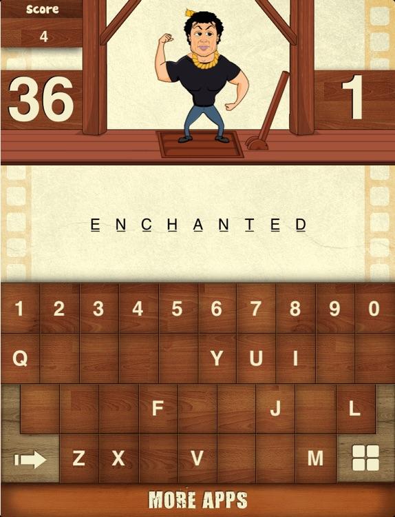 Hangman Hollywood For iPad screenshot-4