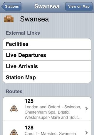 UK Railway Map screenshot-4
