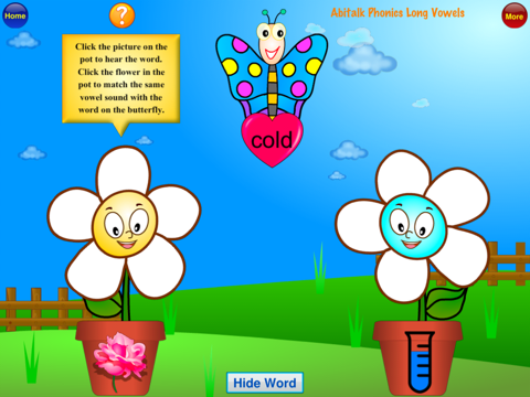 ABC Phonics Butterfly Long Vowels - First Grade Se - náhled
