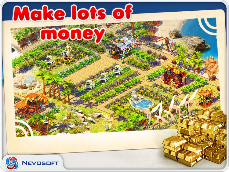 Paradise Beach: resorts tycoon sim strategy screenshot-3