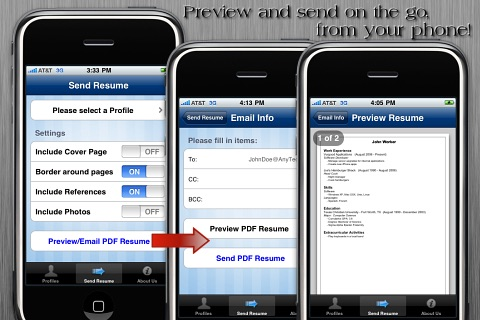 Resume App screenshot-3