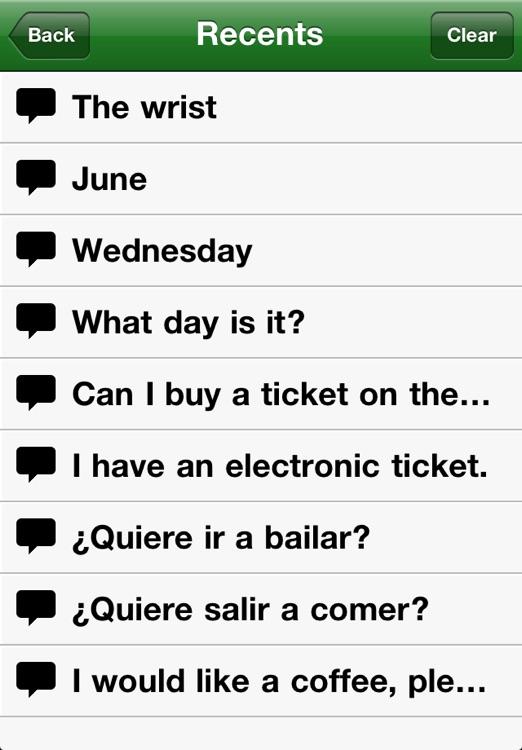 Spanish-English Phrasebook from Accio screenshot-4