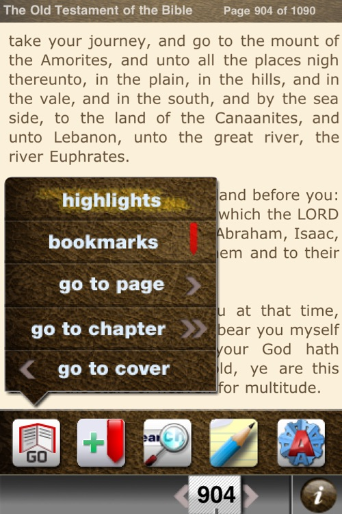 The Bible: Old Testament (DocuApps) screenshot-2