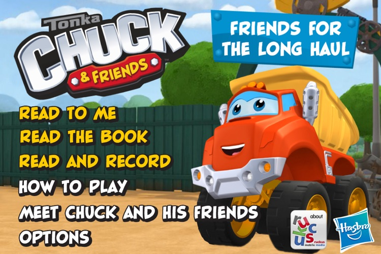Chuck and Friends: Friends for the Long Haul