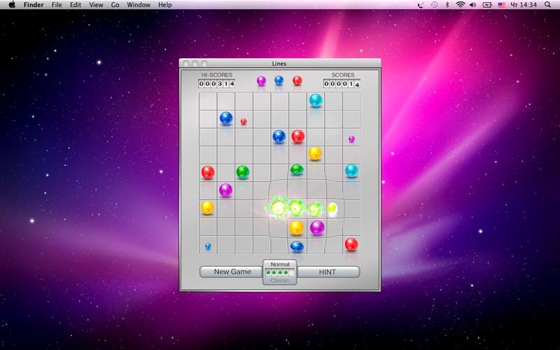 Lines скриншот программы 2