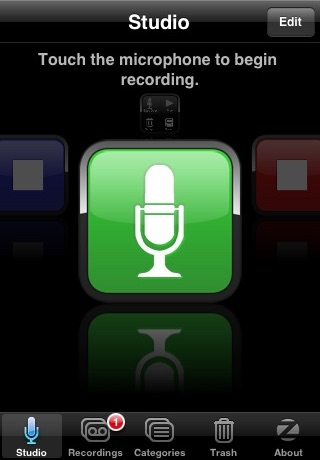 SpeakEasy Voice Recorder screenshot-0