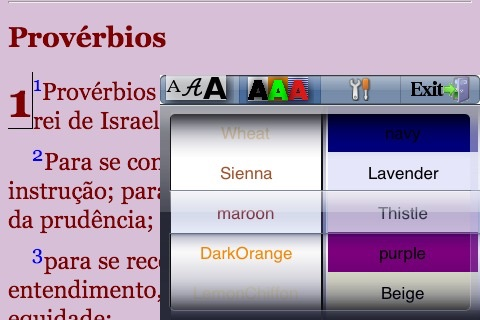 A Bíblia Sagrada (Portuguese Bible) screenshot-4