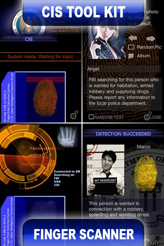 CIS Fingerprint Scanner & Spy Toolkit
