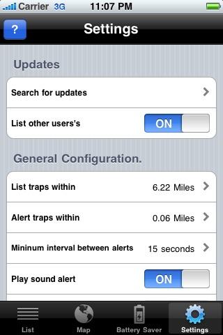 iRadar USA: Offline Speed Traps and Cameras screenshot-4